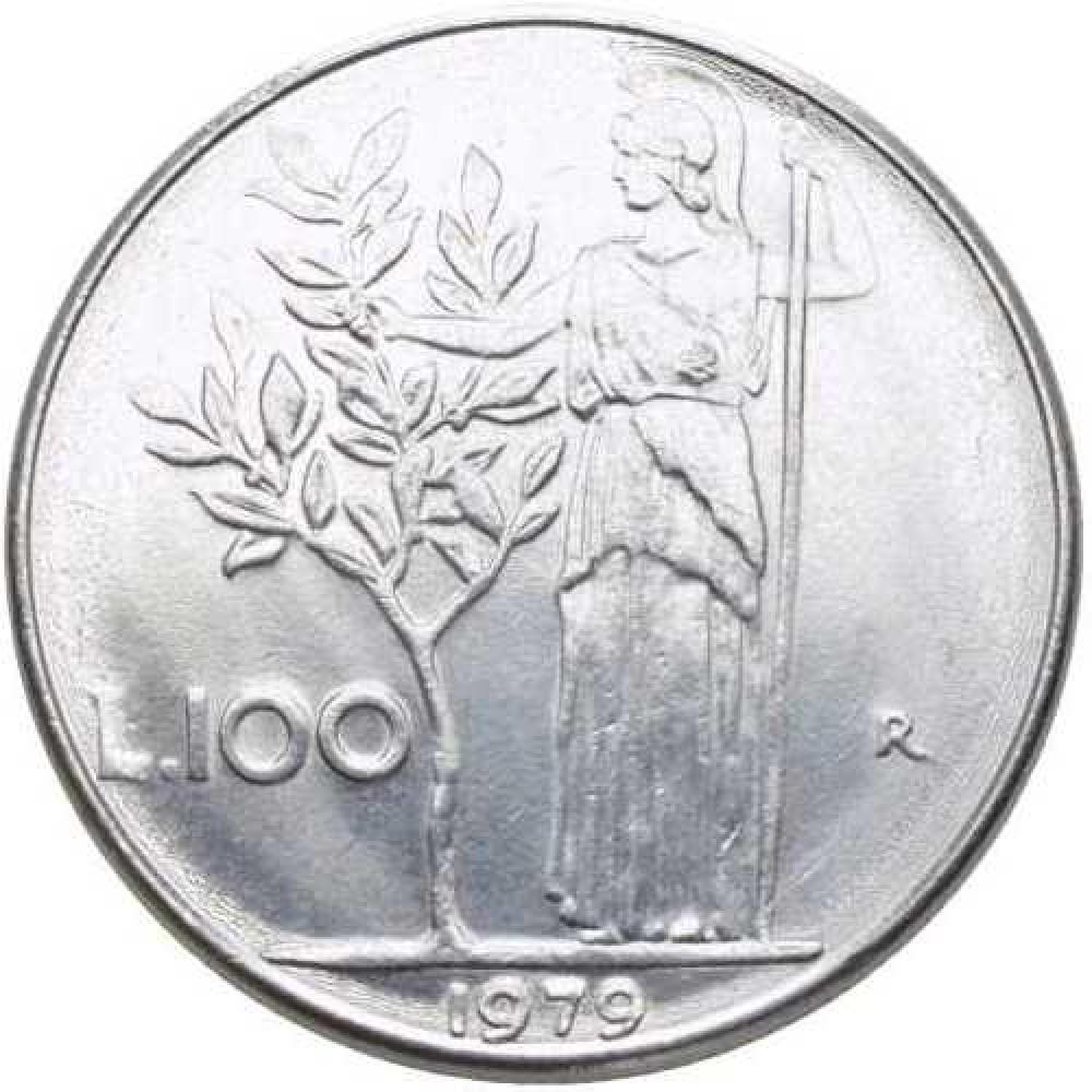 Италия 100 лир 1955-1989