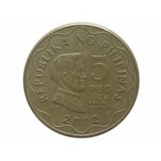 5 писо 2002 Филиппины