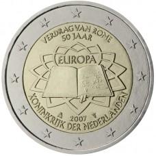 2 Евро 2007 Нидерланды.Римский договор