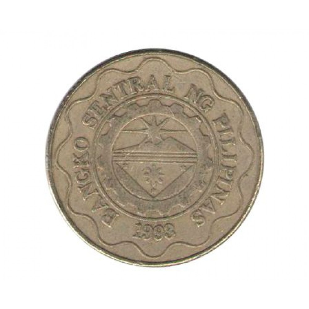 5 писо 1995-2017 Филиппины