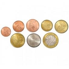 Набор разменных монет Беларусь 2009 года - 8 монет