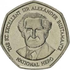 1 доллар 1994-2008 Ямайка