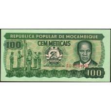 Мозамбик 100 эскудо 1983.UNC пресс.