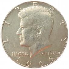 50 центов США 1966 UNC