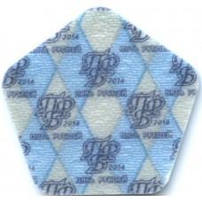 5 рублей 2014 Румянский-Задунайский - пластиковая монета Приднестровья