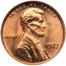 1 цент США 1959-1982год