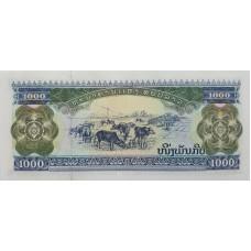 Лаос.1000 кип  2003 года.UNC пресс