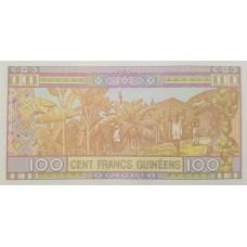 Гвинея.100 франков.2015.UNC пресс.