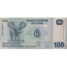 Конго.100 франков.2013.UNC пресс.