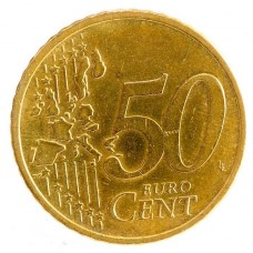 50 евро центов Германия 2002 двор J