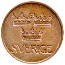 5 эре 1973 Швеция, Густав VI Адольф
