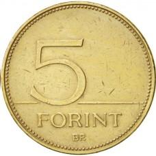 5 форинтов Венгрии 1994-2010 годы