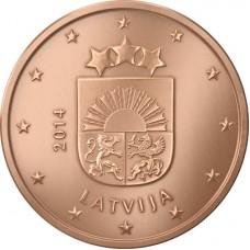1 евро цент Латвия