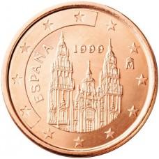 1 евро цент Испания