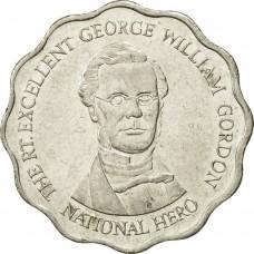 10 долларов 1999-2005 Ямайка