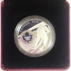 10 долларов Хоккей 2015 год. Серебро