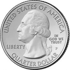 25 центов США 1999 Джорджия