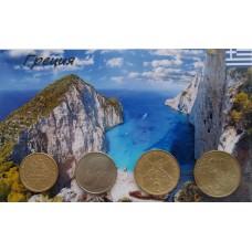 Набор монет Греция