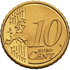 Латвия 2014.Набор Евро монет,все 8 штук.UNC