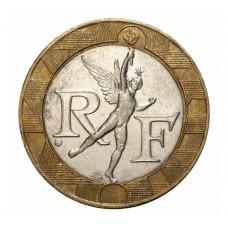 10 франков. Франция 1988-2002