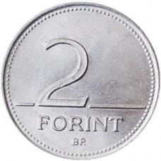2 форинта Венгрии 1992-2008 годы