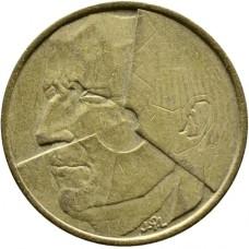 5 франков Бельгия 1986-1993 годы