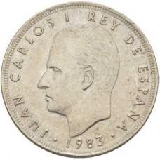 25 песет Испания 1975-1983 годы